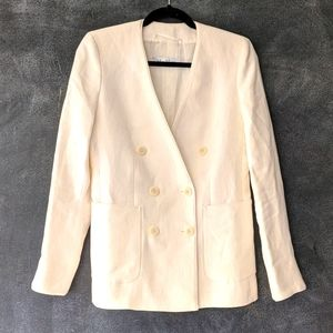 MAX MARA | Linen Double Breasted Summer Blazer